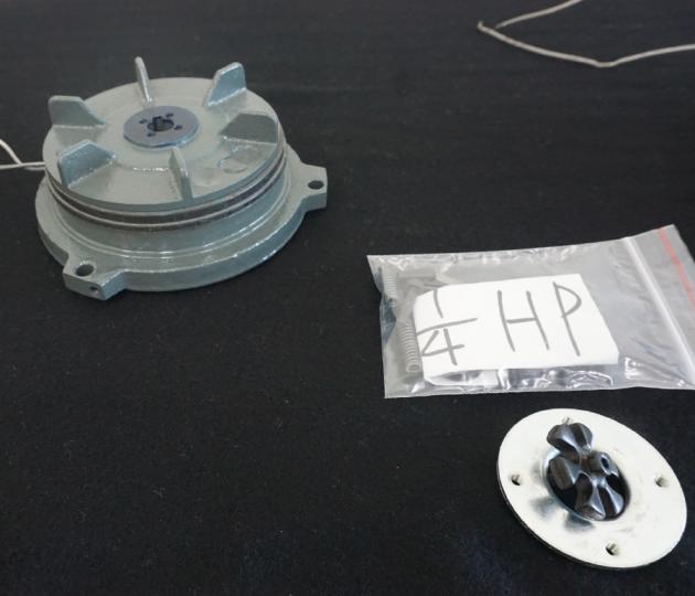 Electromagnetic Spring Applied (fail safe) Brake for IEC motor 6