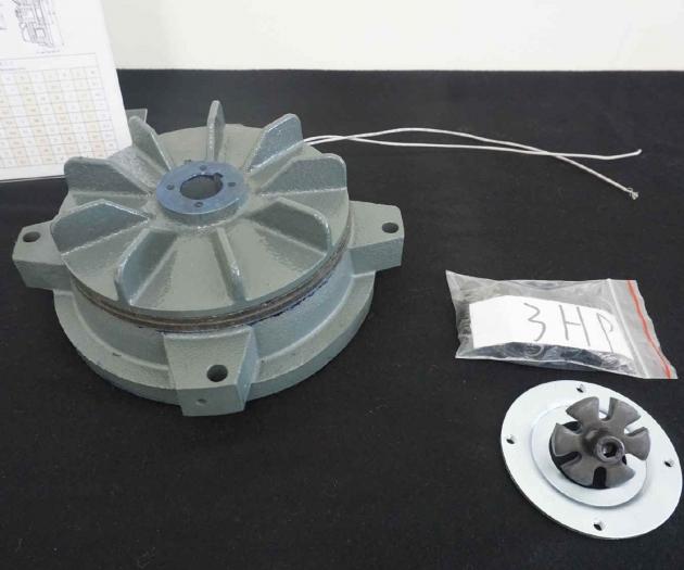 Electromagnetic Spring Applied (fail safe) Brake for IEC motor 10