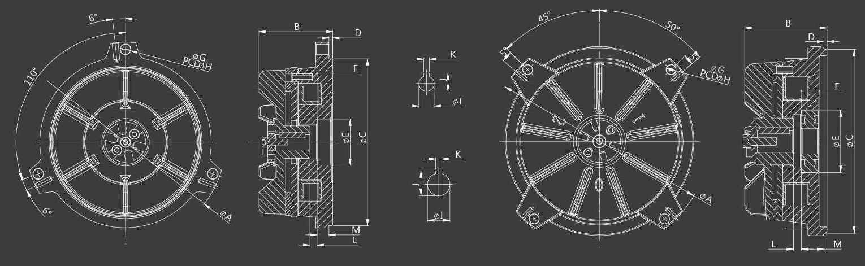 Electromagnetic Spring Applied (fail safe) Brake for IEC motor 3