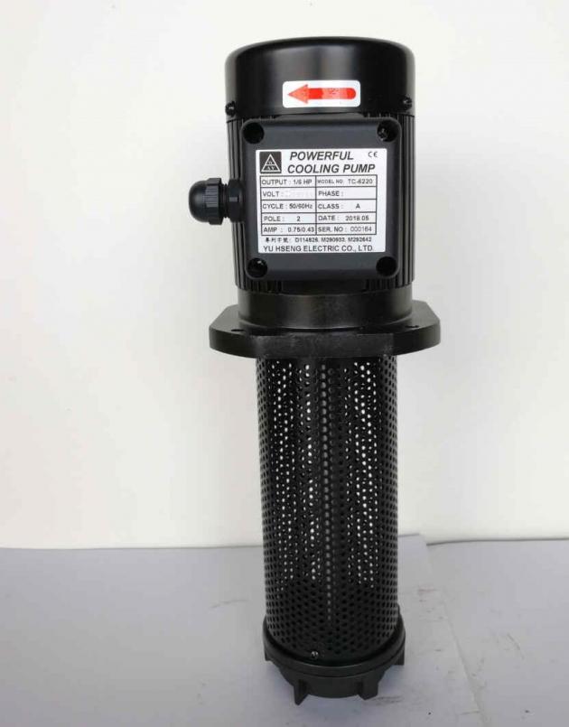TC-6220 1/6HP Coolant pump,220mm (8.7