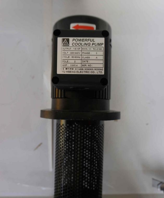 TC-8180 1/8HP Coolant pump, 180mm (7